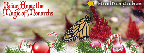 Monarch Butterfly Christmas Tree